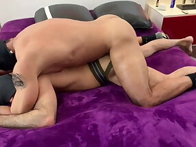 Adam Russo subs for Masked Jock