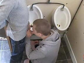 Bareback bathroom break