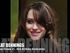 Kat Dennings Cum Tribute 1 - 35th Birthday