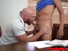 Let your Step Daddy teach you something- GayDaddyTwink.com