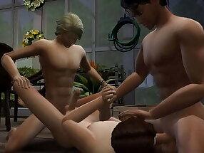 Garden Gay Boys