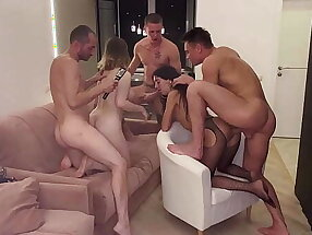 a photo session that turned into a bisexual orgy