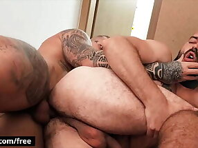 (Luke) Manages To Get (Ryan Cage) By Himself In An Abandoned Place To Fuck - Bromo