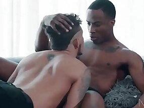Trey Donovan being pounded by ebony Seth Knight