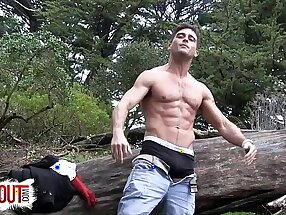 LANCE HART Cum Tax in the Woods GAY Open-air