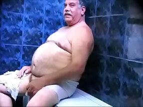 Na sauna com o vovô