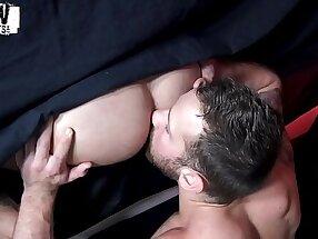 RawFuckBoys - Sean Duran blindfolded for anonymous bareback breeding