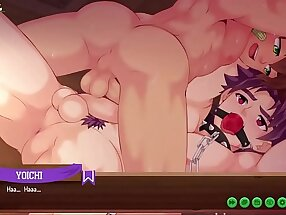 Yoichi Route 5- Bondage Sex Scene (Camp Buddy)