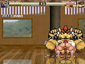 MUGEN Brian vs Bowser/Trunks Briefs/Sol/The thing