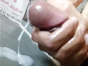 indian big cock mushroom tip jerking off huge cum load best video of 2020