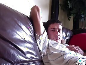 Jackson #11 Straight guy caught getting sucked by another guy Hidden cam